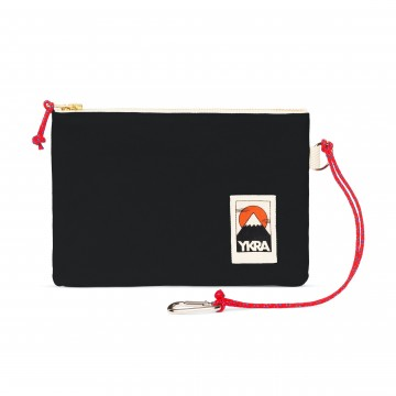 Pouch:  The YKRA Pouch can be attached to the inner rope of the YKRA Matra Mini and YKRA Sailorpack with the carabiner,...