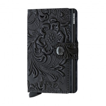 Miniwallet Ornament:   Secrid Miniwallet Ornament brings a traditional Baroque pattern to a modern product.   The supple, embossed leather...