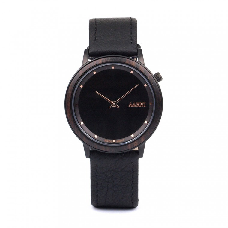 Aarni Loihi Ebony Watch