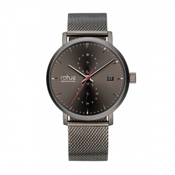 Adventurister Mesh Dark Watch:  Inspired by Northern regions, Rohje Adventurister Mesh Dark watch is the result of Finnish design and suits for all...
