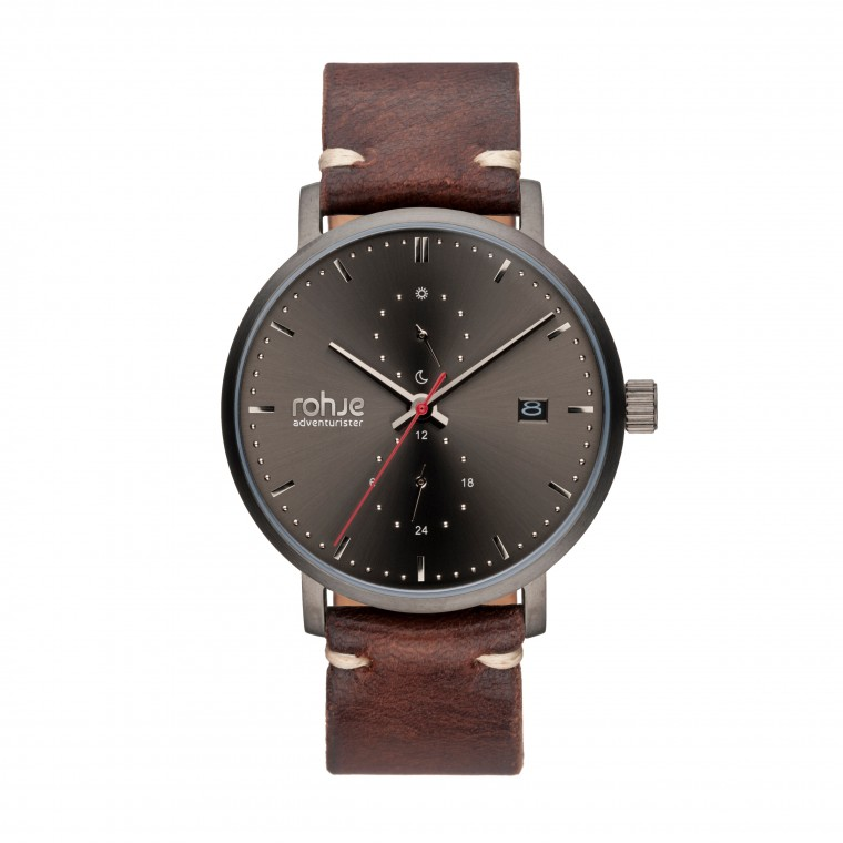 Rohje Adventurister Leather Dark Watch