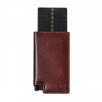 Parliament Wallet -   The Parliament is a smart leather wallet which allows slim storage and...