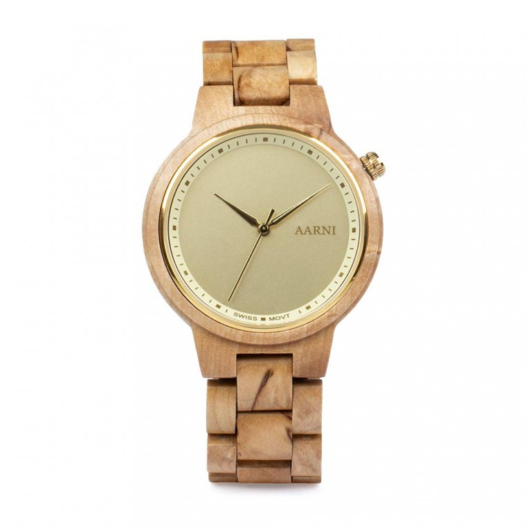 Aarni XO Curly Birch Watch