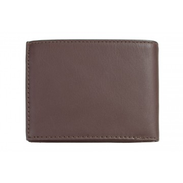 Noah Wallet:  Noah tri-fold wallet is made of very soft leather. Wallet includes a coin pocket, space for notes, 6 card slots and...