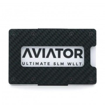 Carbon Wallet:  The Aviator Carbon Wallet is made from premium carbon, which feels light and comfortable to carry. The wallet is...