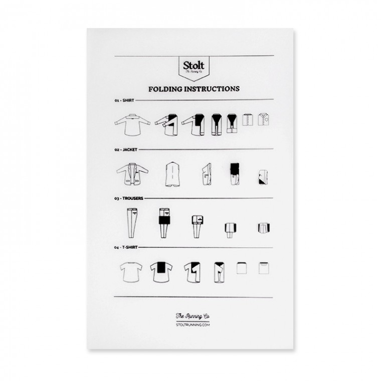 Stolt Folding Card - Viikkauskortti