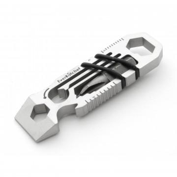 EverRatchet Stainless Steel - Monitoimityökalu:   Avaimenperään mahtuva räikkä + monitoimityökalu.    Dynamic Ratcheting Beam -kielekkeen ansiosta voit käyttää...