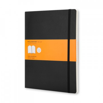 Classic XL Notebook:  The Classic XL has plenty of room for thoughts and ideas. The notebook has Moleskine-style rounded corners and...