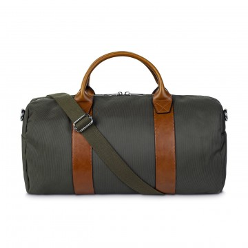 Freedom Duffel:  The classic Steele & Borough duffel bag for the gym, weekend or work. Made from nylon and vegan leather (PU)....