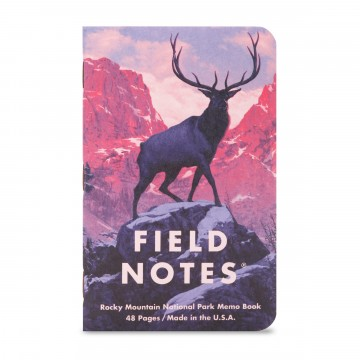 National Parks 3-Pack Memo Book:   Field Notes have always wanted to create and edition celebrating America's National Parks. The work of the artists...