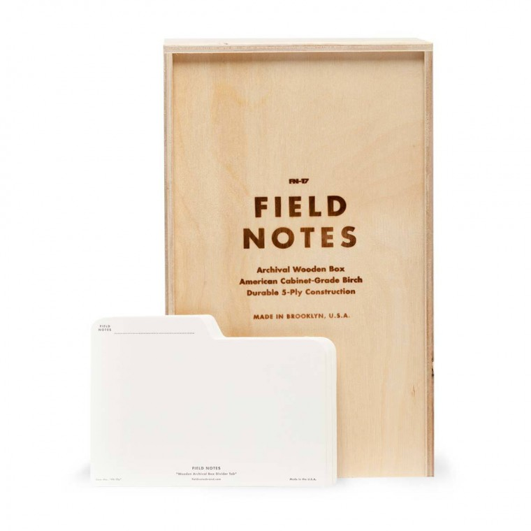 Field Notes Archival Wooden Box - Arkistoboksi