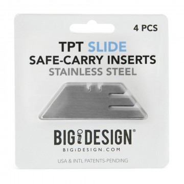 TPT Safe-Carry Inserts:   These   Safe-Carry   inserts can be used for replacing damaged or lost insert for your TPT Slide tool. Each pack...
