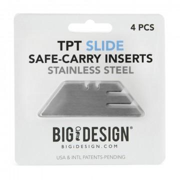 TPT Safe-Carry - Terät:  Näillä Safe-Carry -terillä voit korvata vahingoittuneen tai hävinneen terän TPT Slide -taskutyökaluun. Jokaisessa...