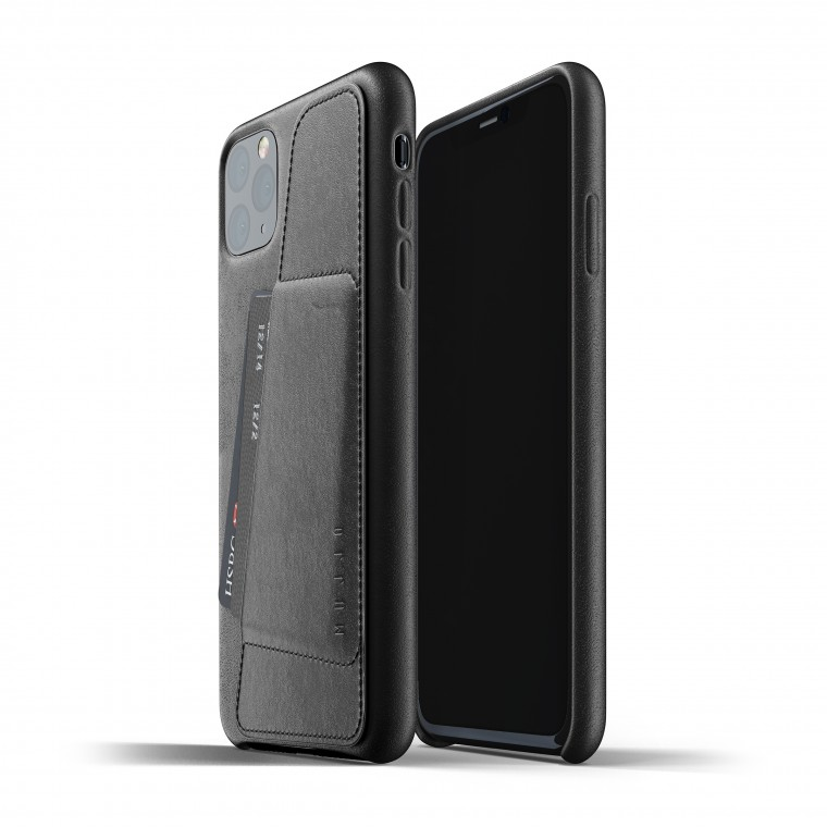 Mujjo Full Leather iPhone Max Wallet Case