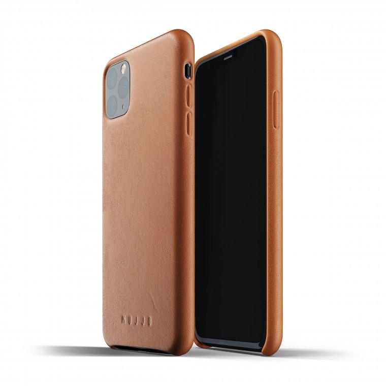Mujjo Full Leather iPhone Max - Suojakansi
