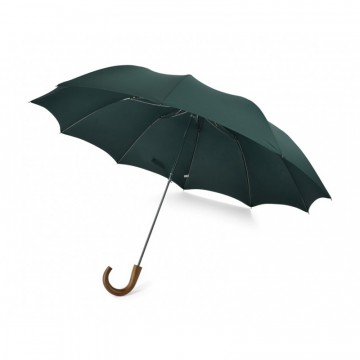 Telescopic TEL1 Maple Crook Umbrella:  TEL1 is a full size telescopic Fox Umbrella with a crook maple wood handle and 10 ribs for extra strenght.The cover...