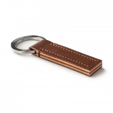 Layer Key Fob:  The Layer Key Fob is a minimalist key holder, layered in contrasting colors with Italian vegetable tanned Buttero...