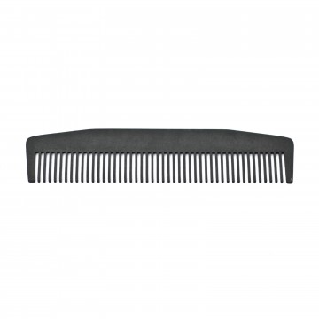 Model No. 3 Comb:  Traditionally shaped Model No. 3 comb is laser-cut out of high-grade stainless steel and hand finished & rounded...
