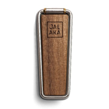 Solo Walnut Mobile Stand:  Jalaka SoloWalnut becomes handy in those everyday situations where you need a stand or good grip for your phone,...