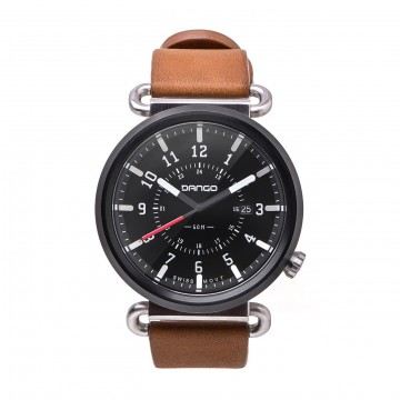 TK-01 Trek - Rannekello:  TK-01 Trek -kellossa on 45 mm ruostumattomasta teräksestä valmistettu runko ja Horween-nahasta tehty ranneke....