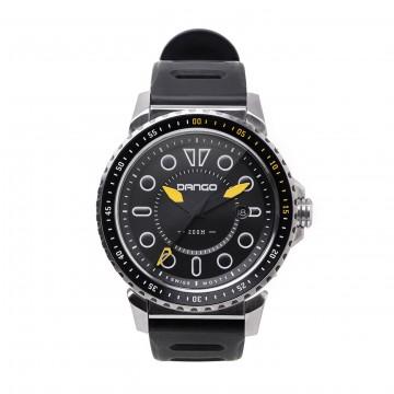 DV-01 Dive - Rannekello:  DV-01 Dive-kellossa on 45 mm ruostumattomasta teräksestä valmistettu runko ja silikoniranneke. Safiirilasi kestää...