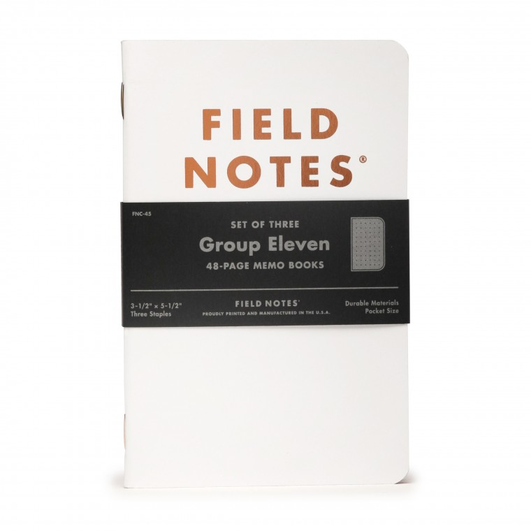 Field Notes Group Eleven 3-Pack Memo Book