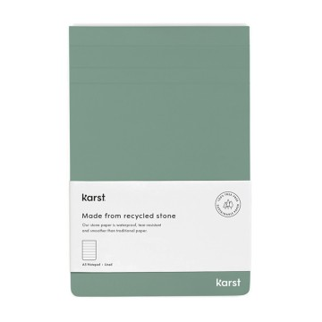 A5 Notepad:  This top flip stone paper notepad is the perfect size for conveniently recording notes and to-do's on the fly. The...