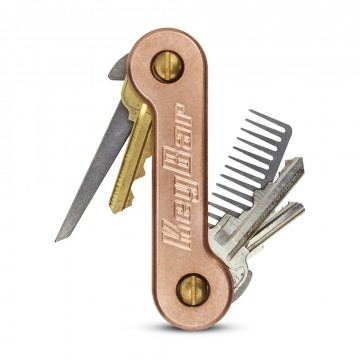 KeyBar Copper:  The KeyBarCopper is a key organizer that works like a multi-tool for your keys and other everyday carry items.Just...