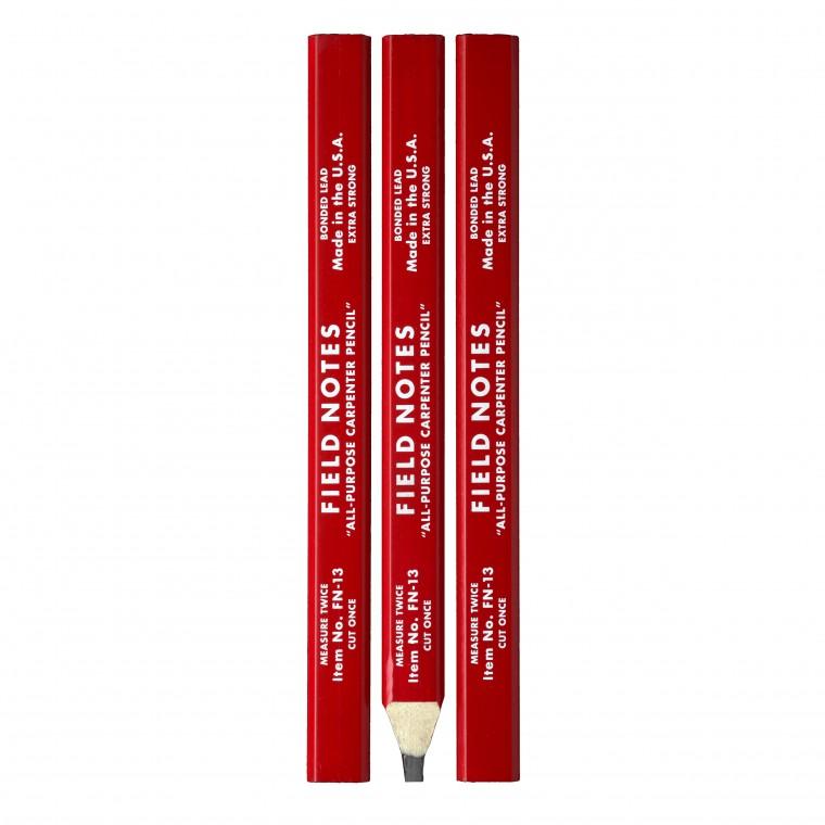 Field Notes Carpenter Pencils 3-Pack