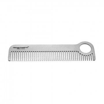 Model No. 1 Stainless Steel Comb:  Iconic Model No. 1 comb is laser-cut out of high-grade stainless steel and hand finished & rounded for...