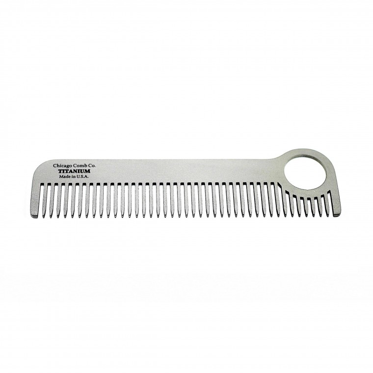 Chicago Comb Co. Model No. 1 Titanium - Kampa