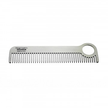 Model No. 1 Titanium Comb:  The Model No. 1 comb has a patented design with a useful loop at one end, which makes it easy to hold the comb while...