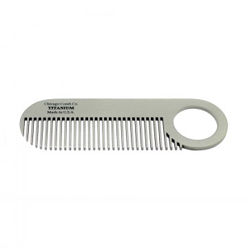Model No. 2 Titanium Comb:  Model No. 2 is a truly iconic beard and mustache comb, which is built to last a lifetime.  The patented design of...
