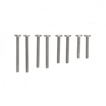 Extension Screw Set:  Extension screw set for KeyBar, includes:     (2) 1 in. stainless steel screws – for up to 14 keys   (2) 1 1/4...