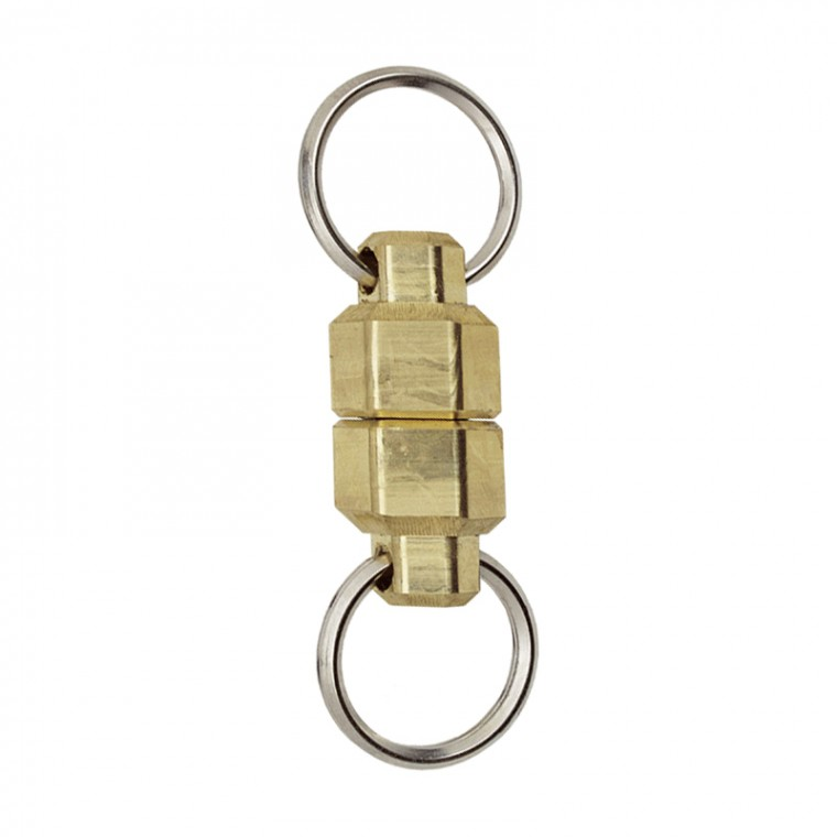 KeyBar MagNut Brass