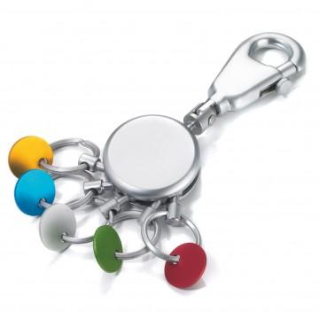 Patent Colour - Avaimenperä:  Patent Colour -avaimenperällä avainten organisointi ja niiden käsittely on helppoa. Lenkit voi irroittaa...
