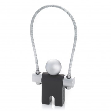 Jumper Key Ring:  Jumper is one of the most succesful keyring ever released. The closure is almost invisible: the barrell screw...