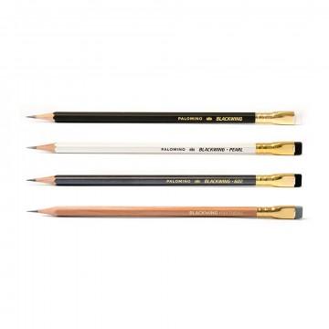 Näytesetti 4-Pack:  Jos et ole varma mikä Blackwing-kynä sopisi sinulle parhaiten, nätekappalesetillä voit kokeilla jokaista kynää...