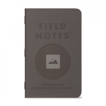 Vignette 3-Pack Memo Book:  The Vignette Edition is the Field Notes Quarterly release for the spring 2020. The Graph Paper Memo Books in these...