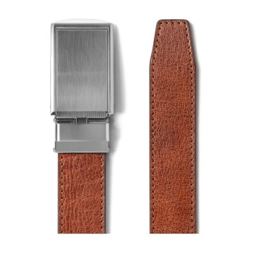 Full Grain Belt:  The Full Grain is the highest quality SlideBelts, made from premium bovine full grain leather. 