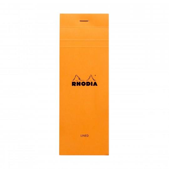 Bloc N°8 - Lehtiö:  Rhodia Bloc -lehtiöllä päivittäiset muistiinpanot ja luonnokset hoituvat luotettavasti, niin toimistolla kuin...