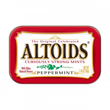 Peppermint Mints:  Altoids Peppermint breath mints keep you fresh and ready for whatever comes your way, whether it's a business...