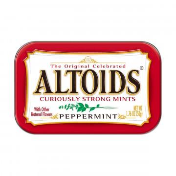 Peppermint - Pastillit -  Piparmintun makuiset, voimakkaat Altoids Peppermint -pastillit pitävät...