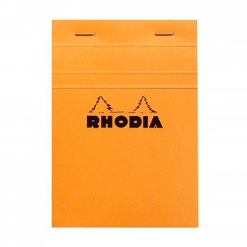 Bloc N°13 Memo Pad:  Rhodia Bloc memo pad is a trustworthy tool for your daily notes and scribbles whether you are at the office or en...