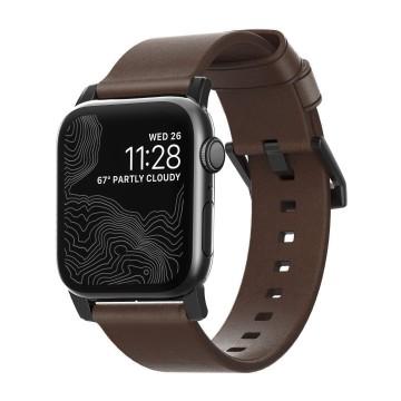 Modern Strap - Ranneke:  Modern Strap antaa Apple Watch -kellollesi klassisen lookin. Sen on tehty kasvisparkitusta Horween-nahasta, mikä...