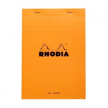 Bloc N°16 - Lehtiö:  Rhodia Bloc -lehtiöllä muistiinpanot ja luonnostelut hoituvat luotettavasti, niin toimistolla kuin reissussakin....