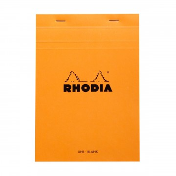 Bloc N°16 Memo Pad:  Rhodia Bloc memo pad is a trustworthy tool for your daily notes and sketches whether you are at the office or en...