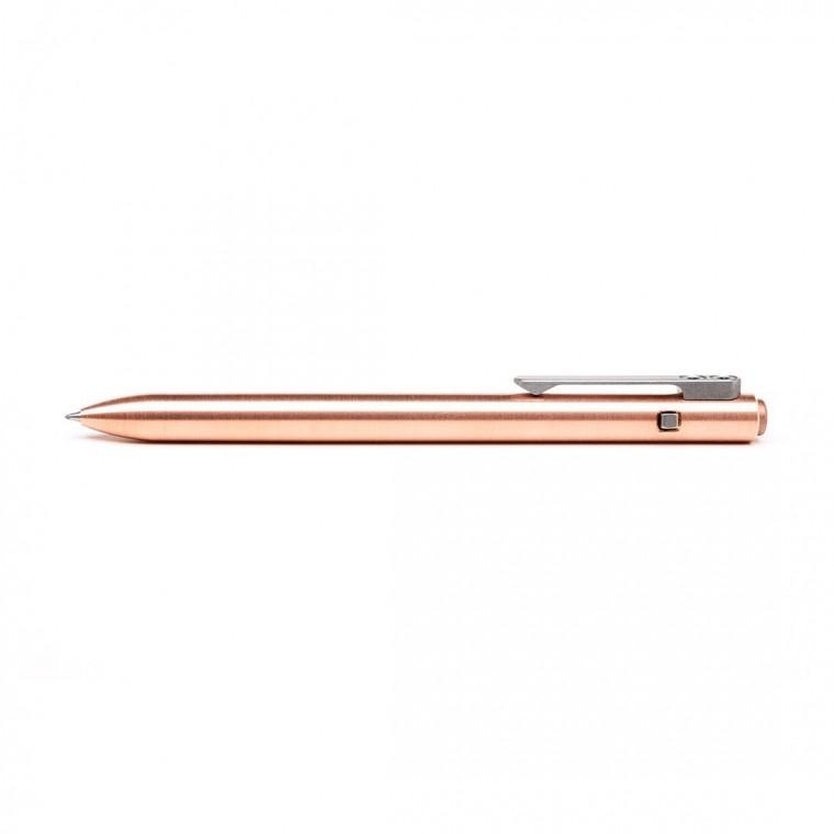 Tactile Turn Side Click Copper Pen