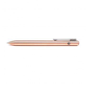 Side Click Copper - Kynä:  Side Click on suunniteltu, valmistettu ja testattu kokonaisuudessaan Tactile Turnin toimesta, koneistettuja T8 Torx...