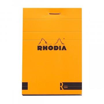 Bloc «R» N°11 - Lehtiö:  Rhodia Bloc «R» -lehtiöissä on samat ominaisuudet ja design kuin normaaleissa Bloc-lehtiöissäkin, mutta varustettu...